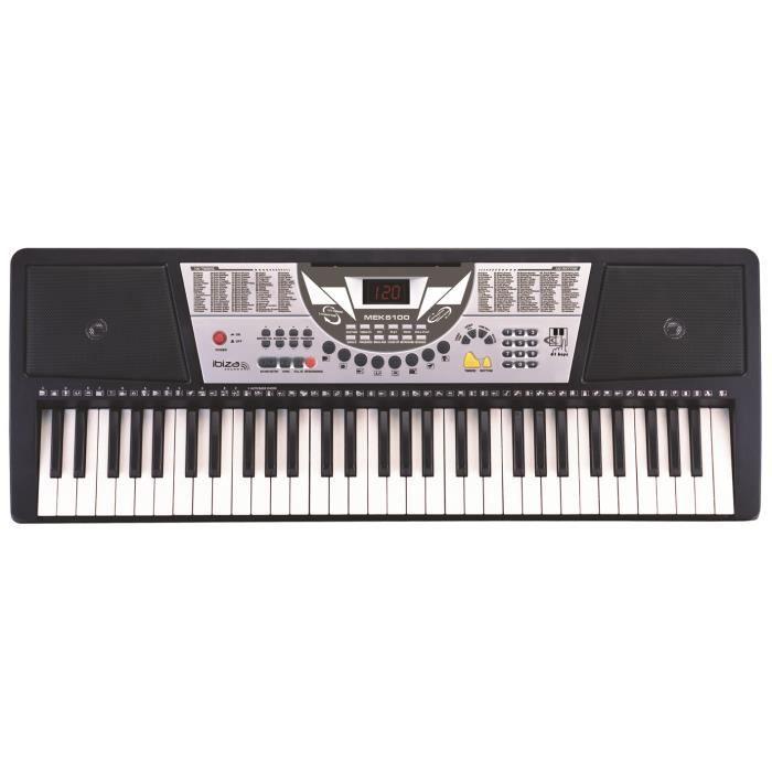 clavier synth tiseur lectronique 64 touches d butants ou. Black Bedroom Furniture Sets. Home Design Ideas