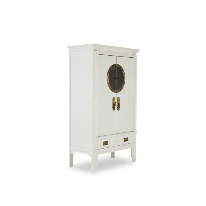 armoire de mariage songyuan en pin blanc massivum achat. Black Bedroom Furniture Sets. Home Design Ideas