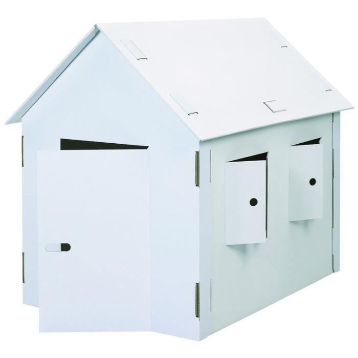 Maison Enfant En Carton
