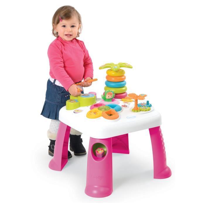table d 39 activit s cotoons rose achat vente table. Black Bedroom Furniture Sets. Home Design Ideas