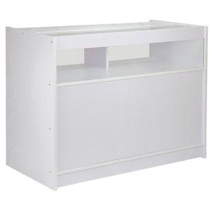 comptoir caisse achat vente comptoir caisse pas cher soldes cdiscount. Black Bedroom Furniture Sets. Home Design Ideas
