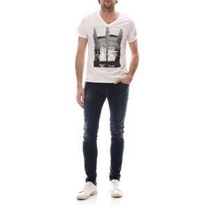 T-SHIRT Chuck V-Neck Boyfriend Tee - T-shirt - crème