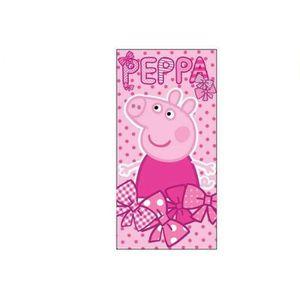 serviette de bain peppa pig jolie drap de plage enfants filles rose achat vente serviette de. Black Bedroom Furniture Sets. Home Design Ideas