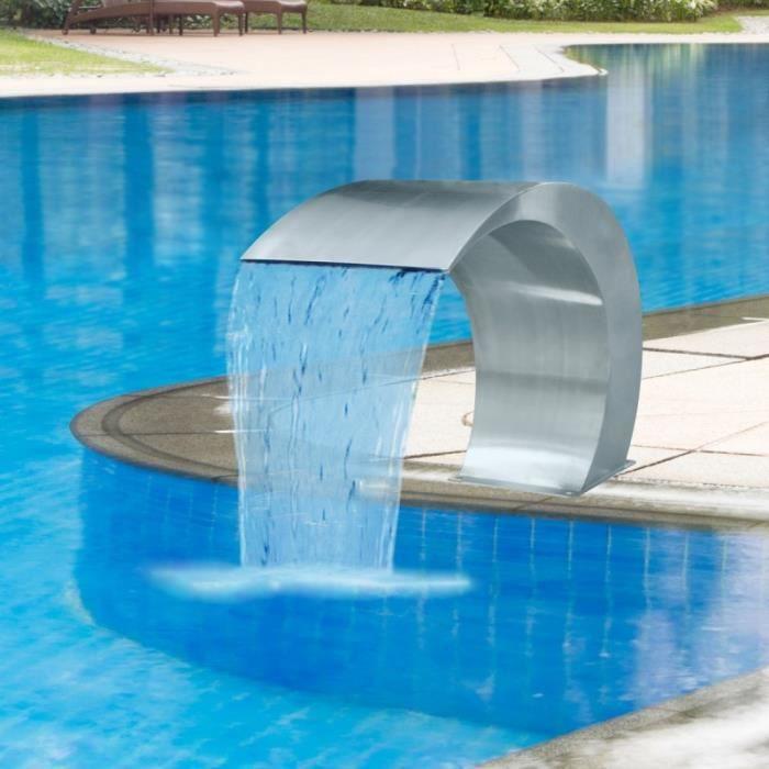 cascade de piscine  acier inoxydable   vente