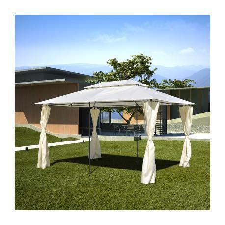 tonnelle pavillon de jardin 3 x 4 m stylashop achat. Black Bedroom Furniture Sets. Home Design Ideas