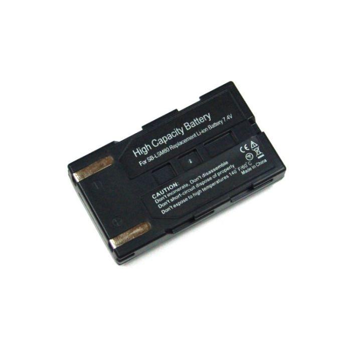batterie sb lsm80 pour samsung achat vente batterie appareil photo cdiscount. Black Bedroom Furniture Sets. Home Design Ideas