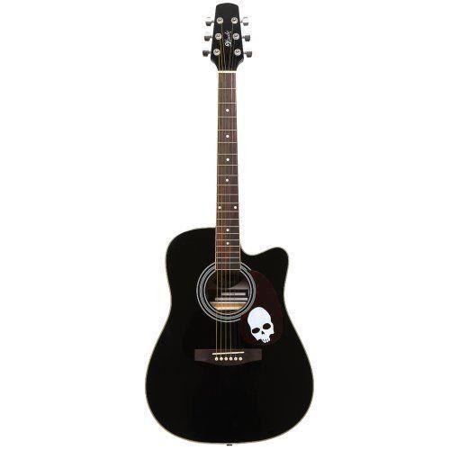 Lindo guitars guitare acoustique pan coup housse de for Housse guitare acoustique