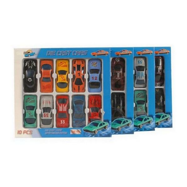 coffret de 10 petites voitures miniatures voitu achat vente voiture camion cdiscount. Black Bedroom Furniture Sets. Home Design Ideas