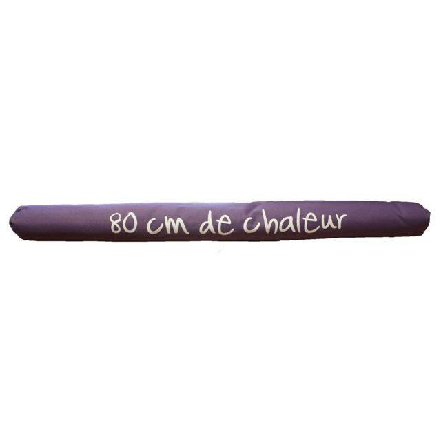 Boudin de porte violet 80 cm de chaleur achat vente boudin de porte cdiscount for Boudin de porte 100 cm