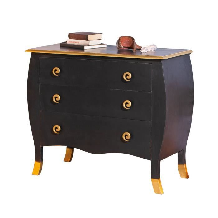 commode console coiffeuse rangement 3 tiroirs baro achat. Black Bedroom Furniture Sets. Home Design Ideas