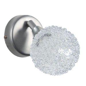 ACTUELLE Applique rotule,boule aluminium