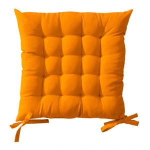 coussin de chaise orange achat vente coussin de chaise orange pas cher cdiscount. Black Bedroom Furniture Sets. Home Design Ideas