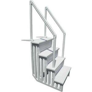 ECHELLE DE PISCINE  escalier interieur résine piscine réglable