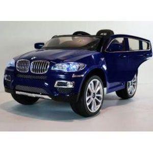 bmw x6 bleu m tallis e voiture lectrique enfant 12 volts 2 moteurs achat vente voiture. Black Bedroom Furniture Sets. Home Design Ideas