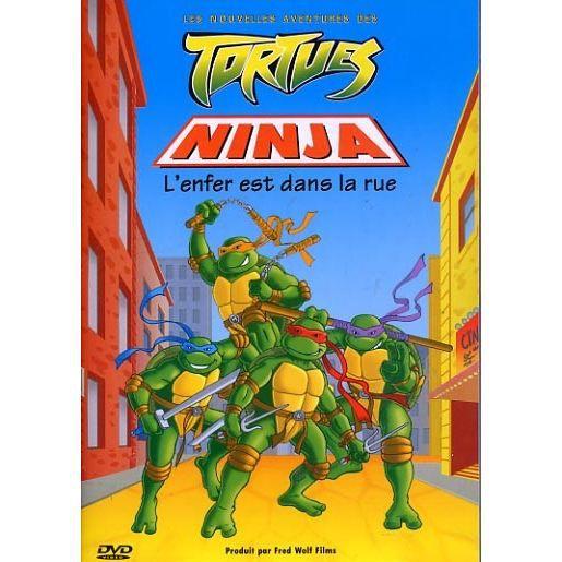 Tortues ninja l 39 enfer est dans la rue en dvd dessin anim pas cher cdiscount - Tortu ninja nom ...