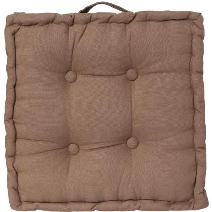 coussin de sol taupe achat vente coussin les soldes sur cdiscount cdiscount. Black Bedroom Furniture Sets. Home Design Ideas