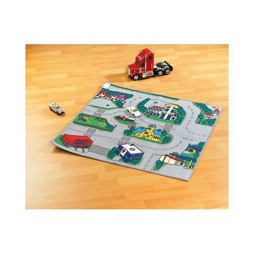 Tapis De Jeu 2 En 1 39 39 Ville Circuit De Course 39 39 Achat Vente Tapis De Jeu Cadeaux De No L