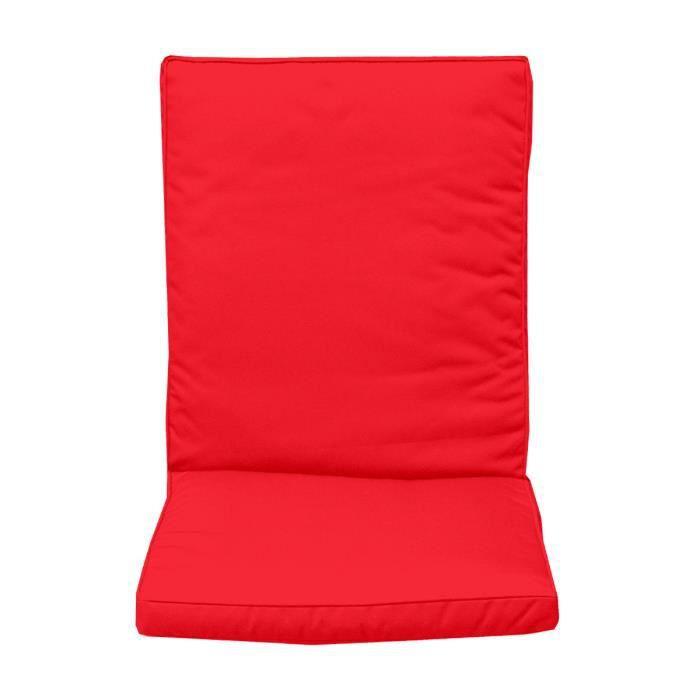coussin de dossier pour fauteuil rouge achat vente coussin d 39 ext rieur coussin de dossier. Black Bedroom Furniture Sets. Home Design Ideas