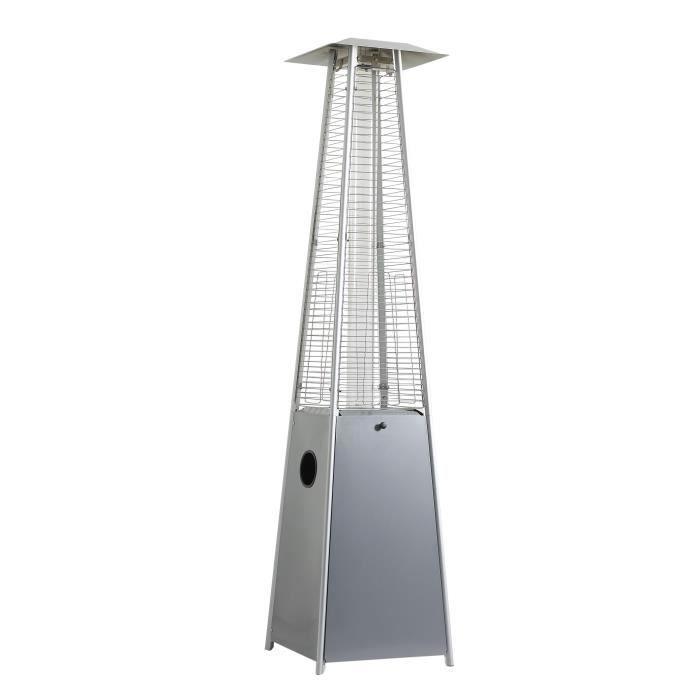 parasol chauffant gaz flamme achat vente parasol. Black Bedroom Furniture Sets. Home Design Ideas