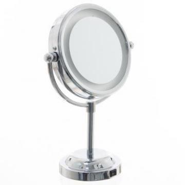 Miroir lumineux double face achat vente miroir - Miroir salle de bain grossissant lumineux ...