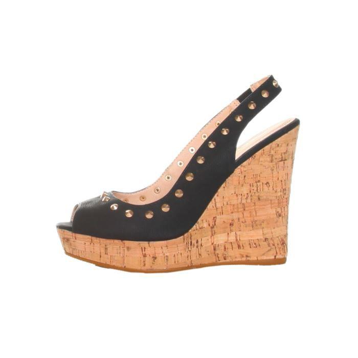 chaussures compenses femme les bons plans de micromonde. Black Bedroom Furniture Sets. Home Design Ideas