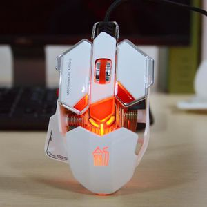 SOURIS JS-L10 Classique 10-touches coloré lumière LED fil