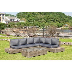 banquette jardin resine maison design. Black Bedroom Furniture Sets. Home Design Ideas