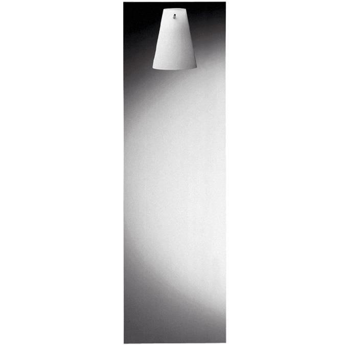Miroir rectangulaire avec luminaire axor starck achat for Miroir avec applique
