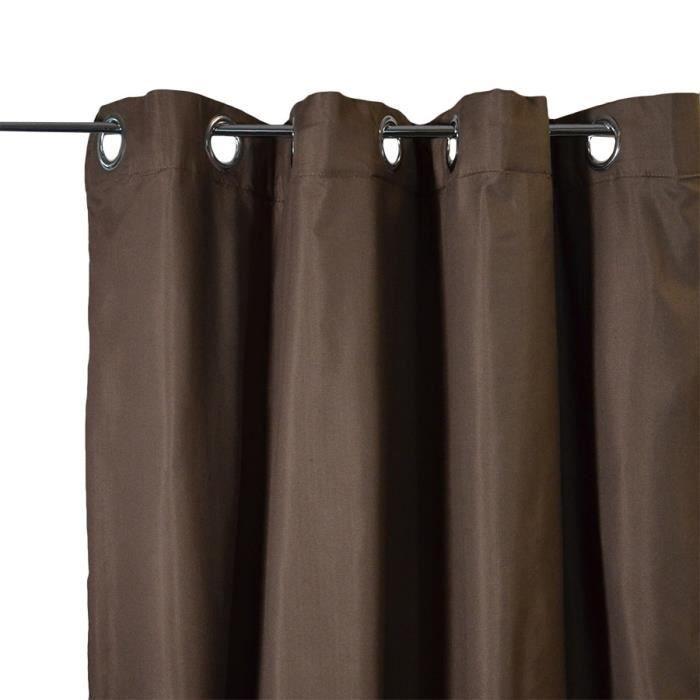 rideaux salon pas cher top rideau couleur caf marron cmcm rideau de fentre with rideaux salon. Black Bedroom Furniture Sets. Home Design Ideas