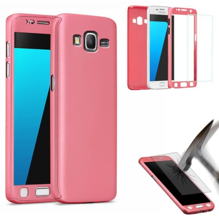 coque 360 full protection pour samsung galaxy j5 2016. Black Bedroom Furniture Sets. Home Design Ideas