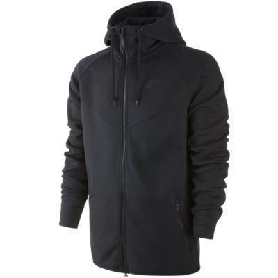 sweat nike tech fleece windrunner full zip hoody noir achat vente veste cdiscount. Black Bedroom Furniture Sets. Home Design Ideas