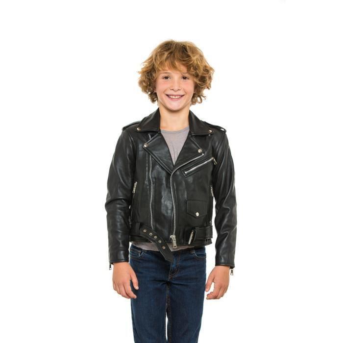 veste cuir enfant achat vente veste cuir enfant pas cher les soldes sur cdiscount cdiscount. Black Bedroom Furniture Sets. Home Design Ideas