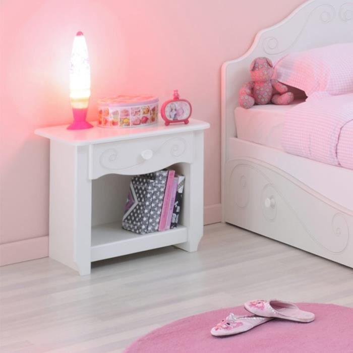 paris prix table de chevet betty blanc achat vente chevet paris prix table de cheve. Black Bedroom Furniture Sets. Home Design Ideas