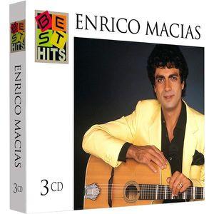 CD VARIÉTÉ FRANÇAISE Enrico Macias : Best Hits