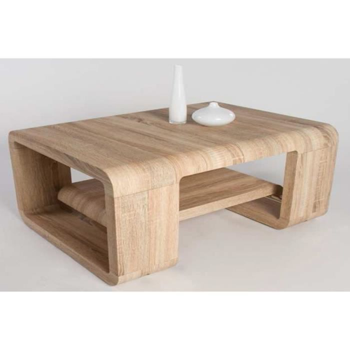 Table basse chene sonoma – Table de lit 8627dd519dc4