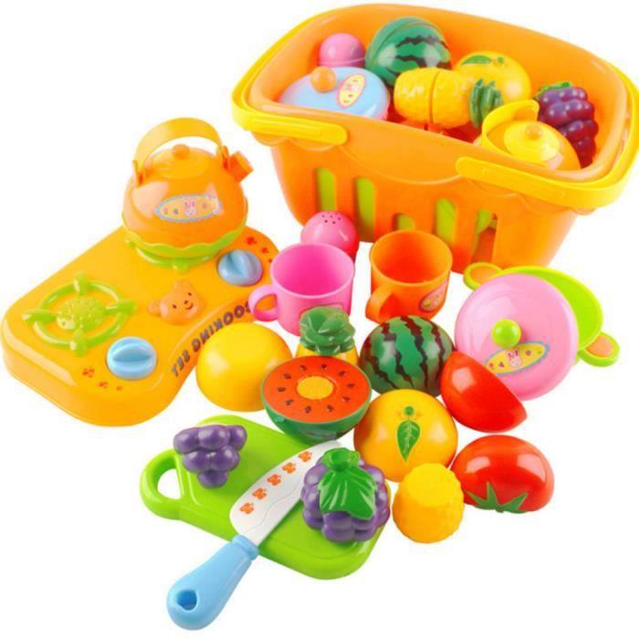vococal enfant cuisine jouet ensembles de l gumes fruits et de son enseignement apprentissage. Black Bedroom Furniture Sets. Home Design Ideas