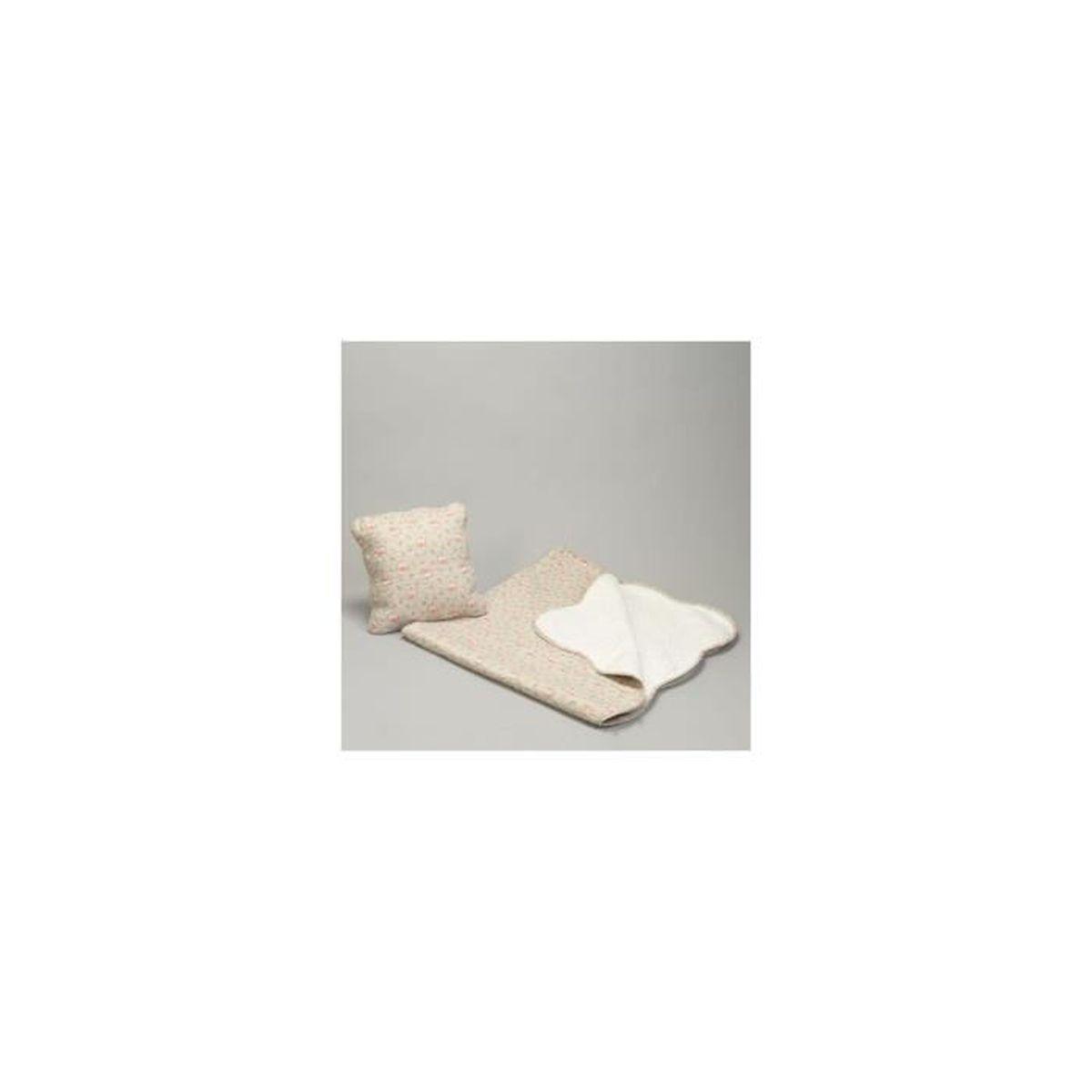 boutis gris clair fleurs 230x250cm 2 taies achat. Black Bedroom Furniture Sets. Home Design Ideas