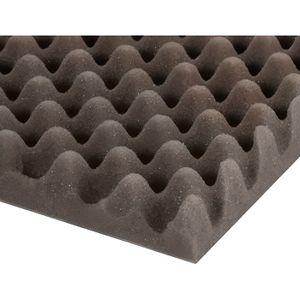 PANNEAU ABSORBANT Adam Hall - Mousse acoustique alvéolée (200 cm x 1