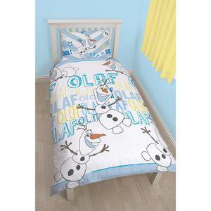 parure de lit olaf achat vente parure de lit olaf pas cher cdiscount. Black Bedroom Furniture Sets. Home Design Ideas