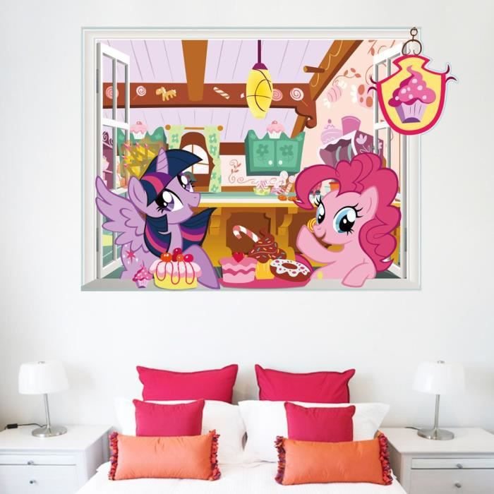 my little pony decorations achat vente my little pony. Black Bedroom Furniture Sets. Home Design Ideas
