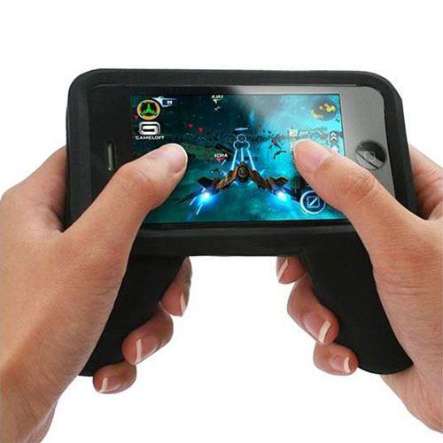 coque manette de jeu pour iphone gadget geek achat. Black Bedroom Furniture Sets. Home Design Ideas
