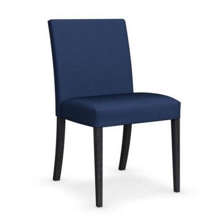 chaise latina low graphite et tissu couleur bleu de calligaris achat vente chaise bleu. Black Bedroom Furniture Sets. Home Design Ideas