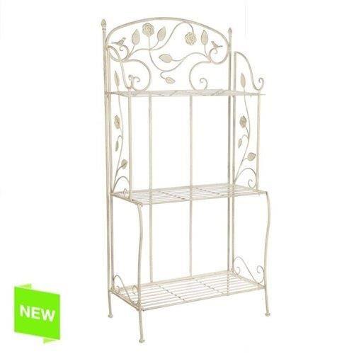 etagere pot de fleurs 3 niveaux dimensions 59x32x117 cm. Black Bedroom Furniture Sets. Home Design Ideas