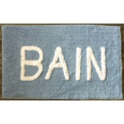 tapis salle de bain bain bleu ciel achat vente tapis. Black Bedroom Furniture Sets. Home Design Ideas