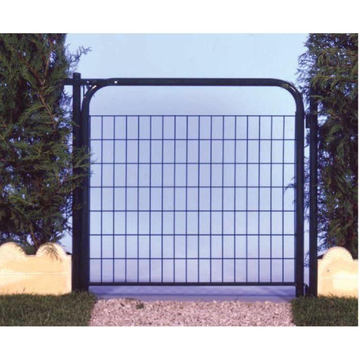 Portillon de jardin mottez long 1 m haut 1 2 m achat for Portillon de jardin aluminium