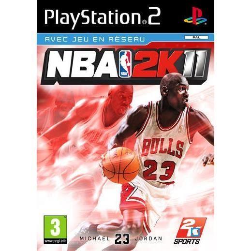 JEU PS2 NBA 2K11 / PS2
