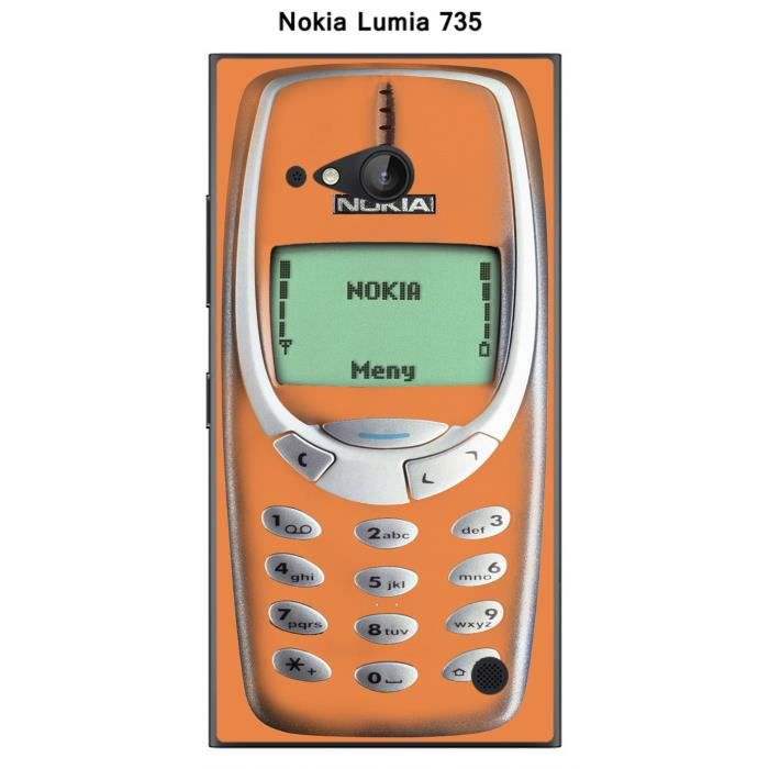 coque nokia lumia 735 nokia 3310 tangerine achat housse. Black Bedroom Furniture Sets. Home Design Ideas