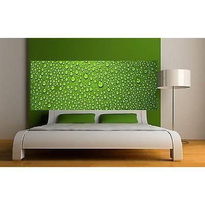 sticker t te de lit d coration murale gouttes d eau r f 3631 5 dimensions dimensions. Black Bedroom Furniture Sets. Home Design Ideas