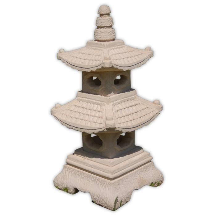lampe pagode japonaise 2 niveaux clairage ext rieur