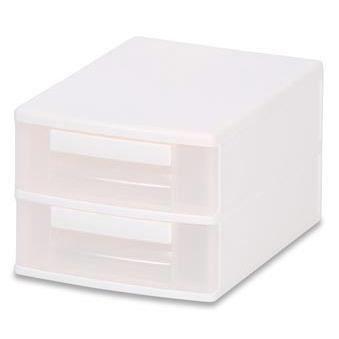 tours de rangement deux tiroirs tour de rangement blanc. Black Bedroom Furniture Sets. Home Design Ideas